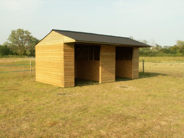 Double Mobile Field Shelter 10x20