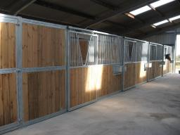 Internal Horse Stables by Woodhouse Stables