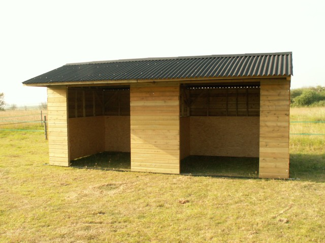 Mobile Field Shelter - 10x20 Double