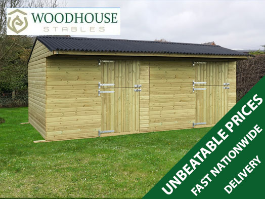Quality Mobile Stables From Woodhouse Stables