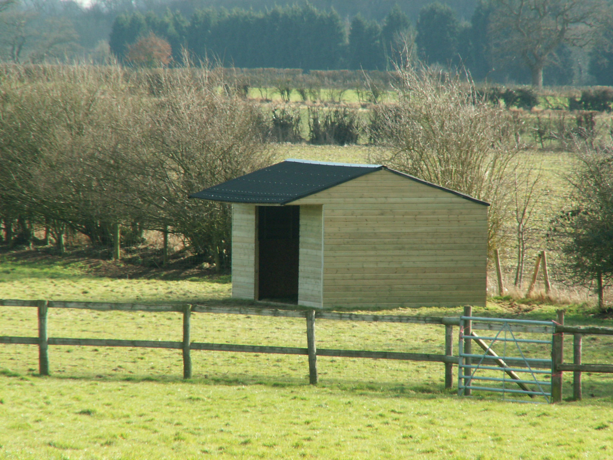 Single Mobile Field Shelter 16x12 foot