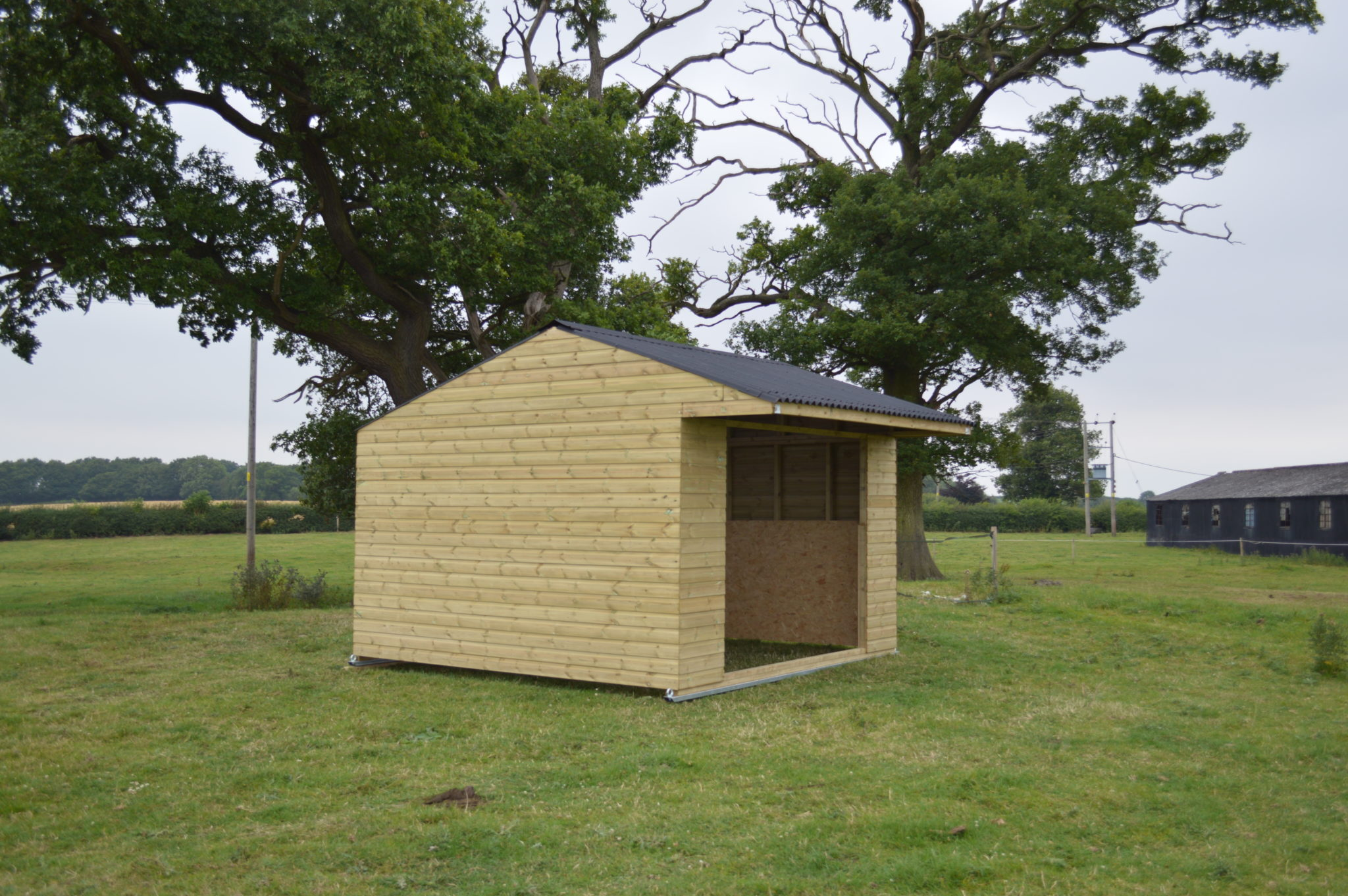 Double Mobile Field Shelter 2