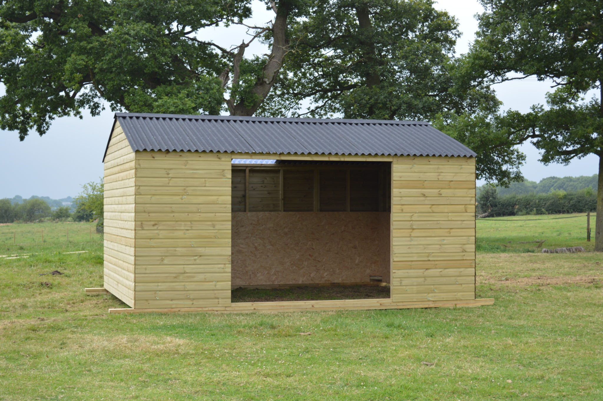 Double Mobile Field Shelter 1